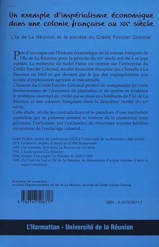 4eme UN EXEMPLE D'IMPÉRIALISME ÉCONOMIQUE DANS UNE COLONIE FRANÇAISE AU XIXè SIÈCLE