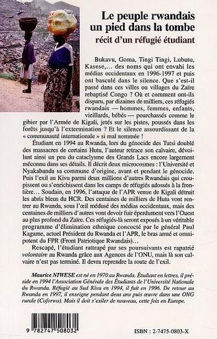 4eme Le peuple rwandais, un pied dans la tombe