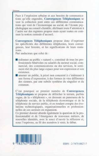 4eme LES METIERS DE LA TELEPHONIE