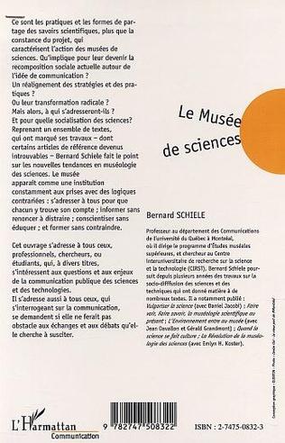 4eme LE MUSÉE DE SCIENCES