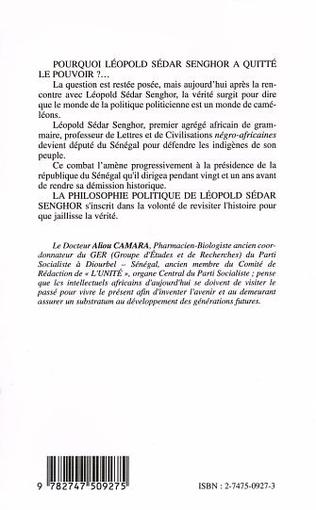 4eme LA PHILOSOPHIE POLITIQUE DE LÉOPOLD SÉDAR SENGHOR