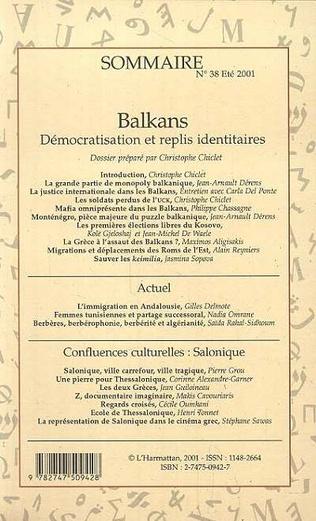 4eme Balkans : Démocratisation et replis identitaires