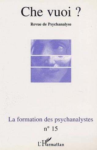 4eme LA FORMATION DES PSYCHANALYSTES