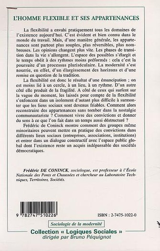 4eme L'HOMME FLEXIBLE ET SES APPARTENANCES