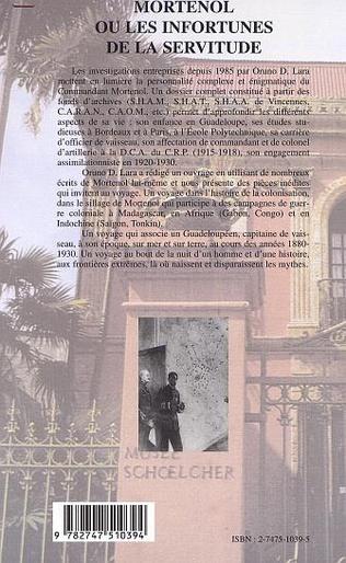 4eme MORTENOL OU LES INFORTUNES DE LA SERVITUDE