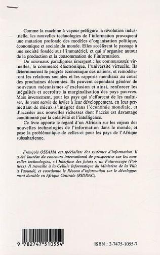 4eme LES NOUVELLES TECHNOLOGIES DE L'INFORMATION