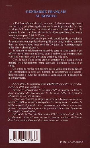 4eme Gendarme français au Kosovo