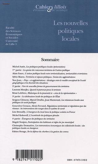 4eme LES NOUVELLES POLITIQUES LOCALES (n°35-36)