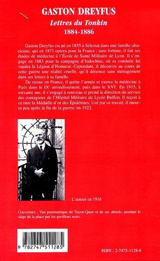 4eme LETTRES DU TONKIN 1884-188