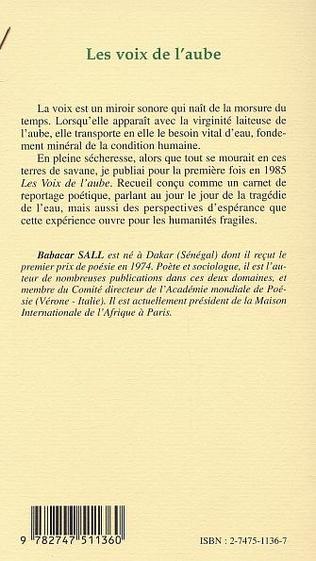 4eme LES VOIX DE L'AUBE