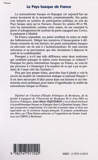 4eme LE PAYS BASQUE EN FRANCE