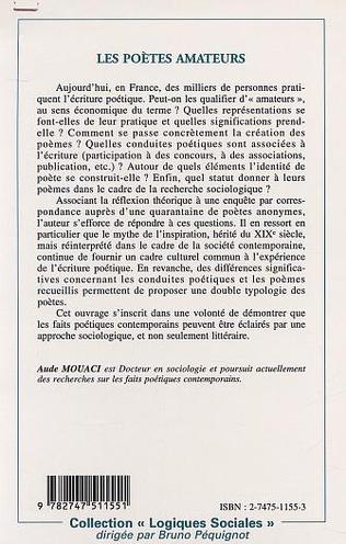 4eme LES POÈTES AMATEURS