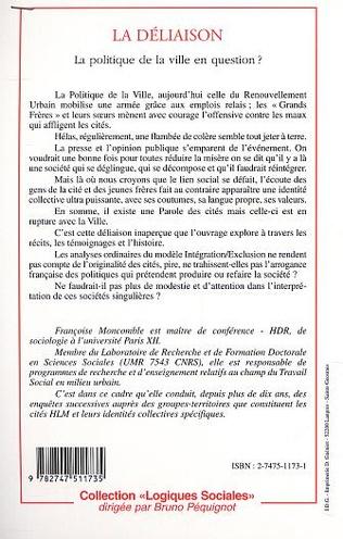 4eme LA DÉLIAISON