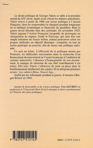 4eme GEORGES VALOIS