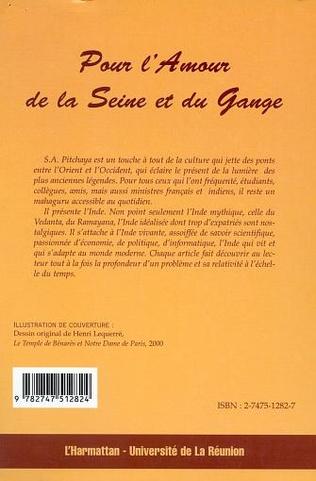 4eme POUR L'AMOUR DE LA SEINE ET DU GANGE