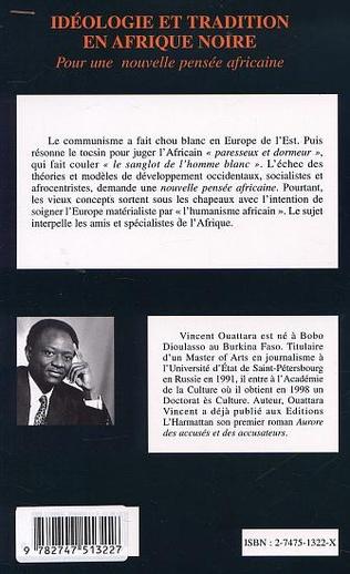 4eme IDÉOLOGIE ET TRADITION EN AFRIQUE NOIRE