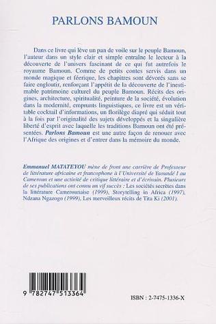 4eme PARLONS BAMOUN