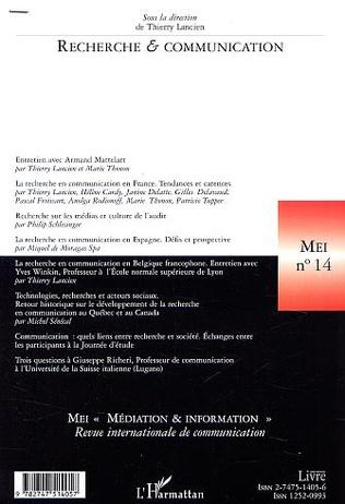 4eme RECHERCHE et COMMUNICATION