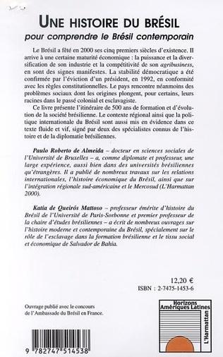 4eme UNE HISTOIRE DU BRÉSIL