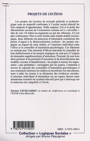 4eme PROJETS DE LYCÉENS