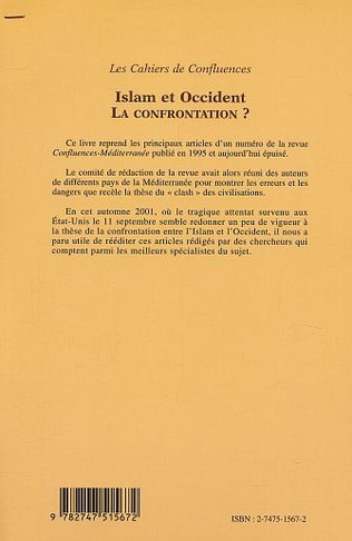 4eme Islam et Occident : la confrontation ?