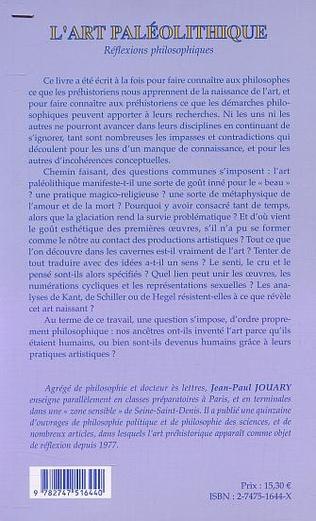 4eme l'ART PALEOLITHIQUE