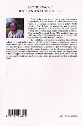 4eme DICTIONNAIRE DES PLANTES COMESTIBLES