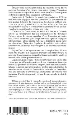 4eme L'ÉDUCATION POPULAIRE RÉINTERROGÉE