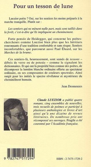 4eme POUR UN TESSON DE LUNE