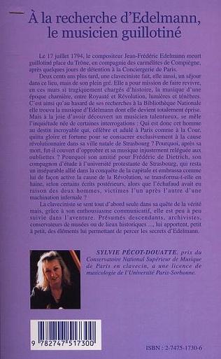 4eme A la recherche d'Edelmann le musicien guillotiné