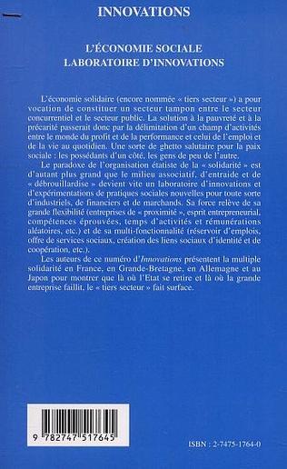 4eme L'ÉCONOMIE SOCIALE