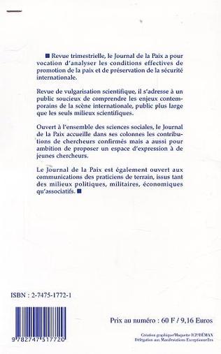 4eme PROCHE-ORIENT : LES IMPASSES