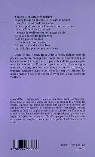 4eme L'INTEMPÉRIE DES MOTS AUX SOURCES ANONYMES