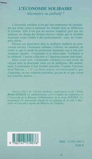 4eme L'ÉCONOMIE SOLIDAIRE