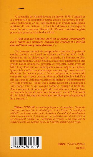 4eme L'EMPIRE DE CHAKA ZOULOU