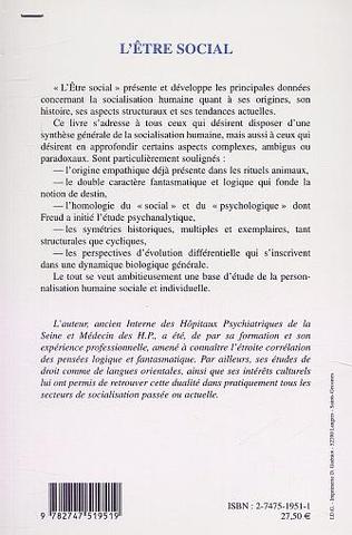 4eme L'ÊTRE SOCIAL