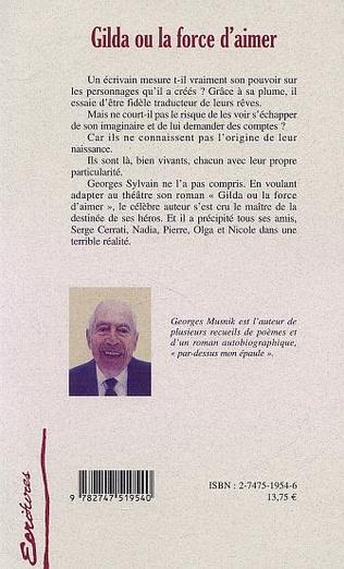 4eme GILDA OU LA FORCE D'AIMER