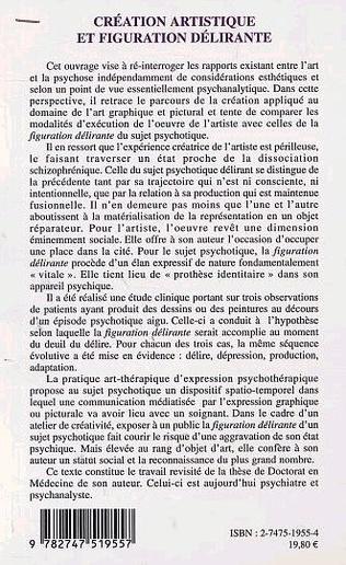 4eme CRÉATION ARTISTIQUE ET FIGURATION DÉLIRANTE
