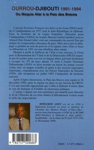4eme OURROU-DJIBOUTI 1991-1994
