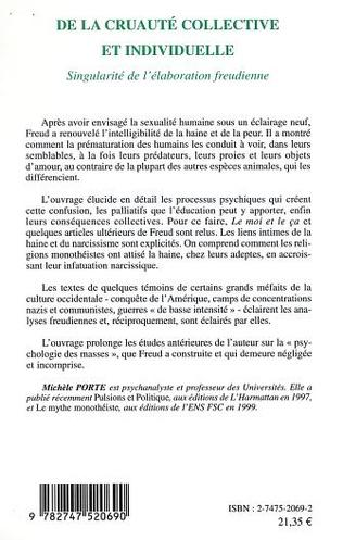 4eme DE LA CRUAUTÉ COLLECTIVE ET INDIVIDUELLE