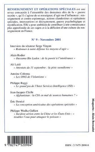 4eme SPECIAL ATTENTATS DU 11 SEPTEMBRE