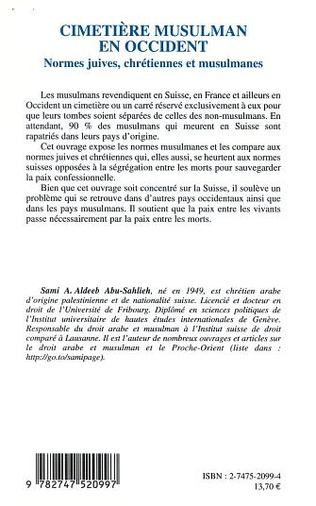 4eme CIMETIÈRE MUSULMAN EN OCCIDENT
