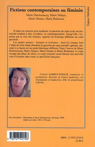 4eme FICTIONS CONTEMPORAINES AU FEMININ
