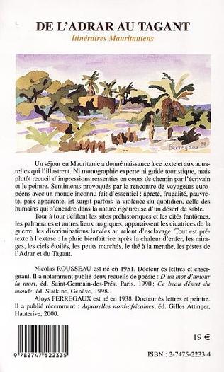 4eme DE L'ADRAR AU TAGANT