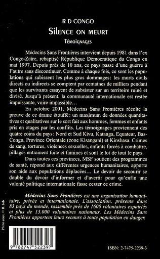 4eme R D CONGO SILENCE ON MEURT