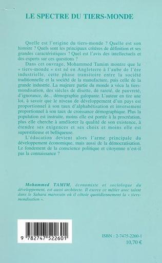 4eme LE SPECTRE DU TIERS-MONDE