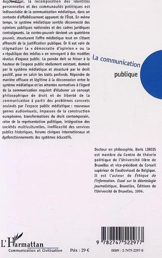 4eme LA COMMUNICATION PUBLIQUE