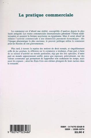 4eme LA PRATIQUE COMMERCIALE (n°30-31)