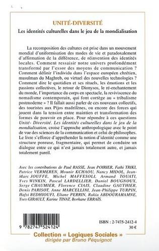 4eme UNITÉ-DIVERSITÉ