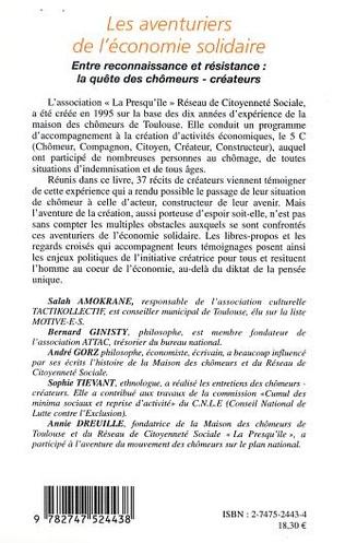 4eme LES AVENTURIERS DE L'ÉCONOMIE SOLIDAIRE